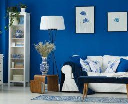 Wybierz z nami modne kolory ścian w salonie!